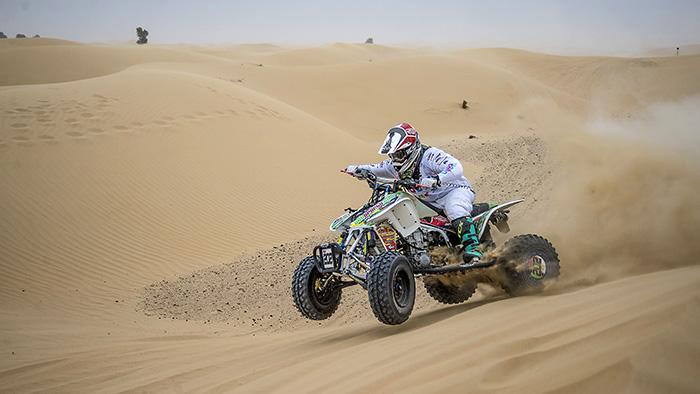 Emirati driver Khalid Al Jafla