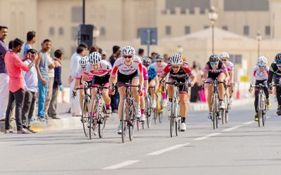 Women on Wheels: Ride Ajman – A First Class Cycling Event