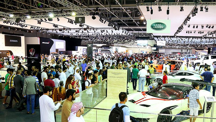 Dubai International Motor Show OutdoorUAE - Car show dubai
