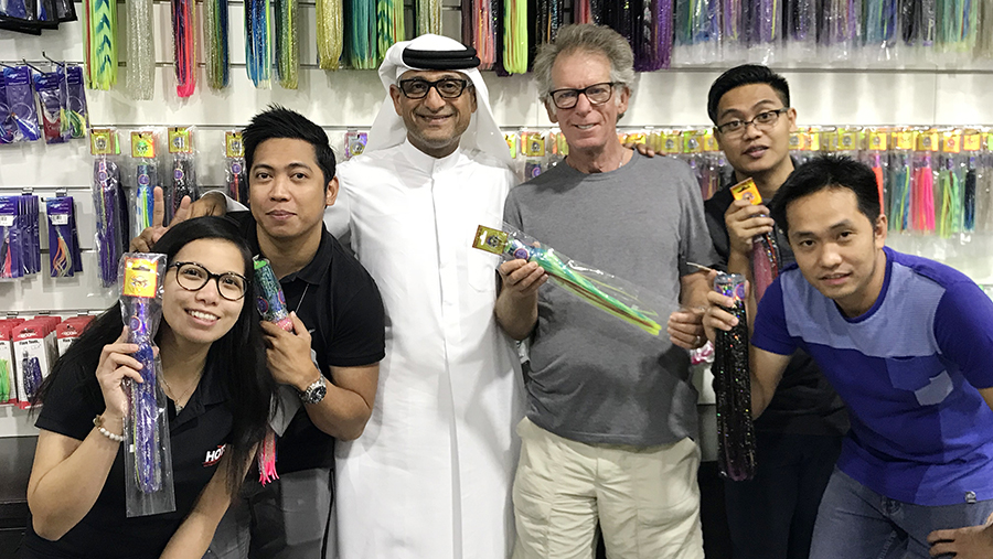 Peter with Abbas Hassani and staff