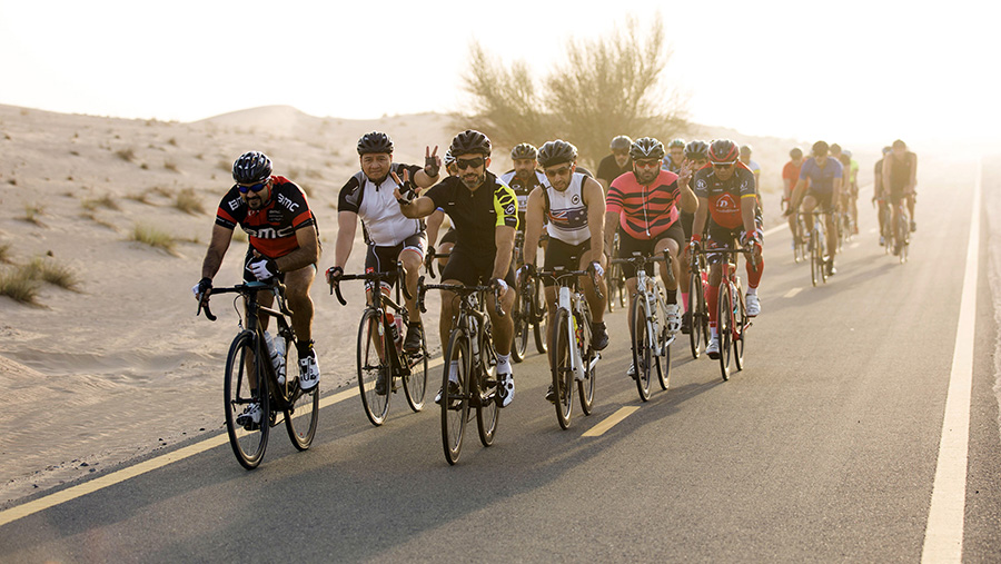 Cyclists are Training Hard for the Spinneys Dubai 92 Cycle Challenge
