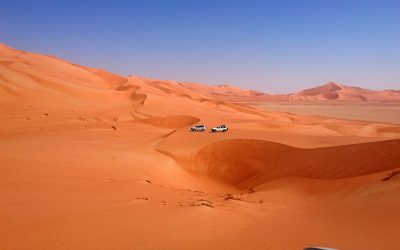 Through the Empty Quarter to the World's Highest Dune