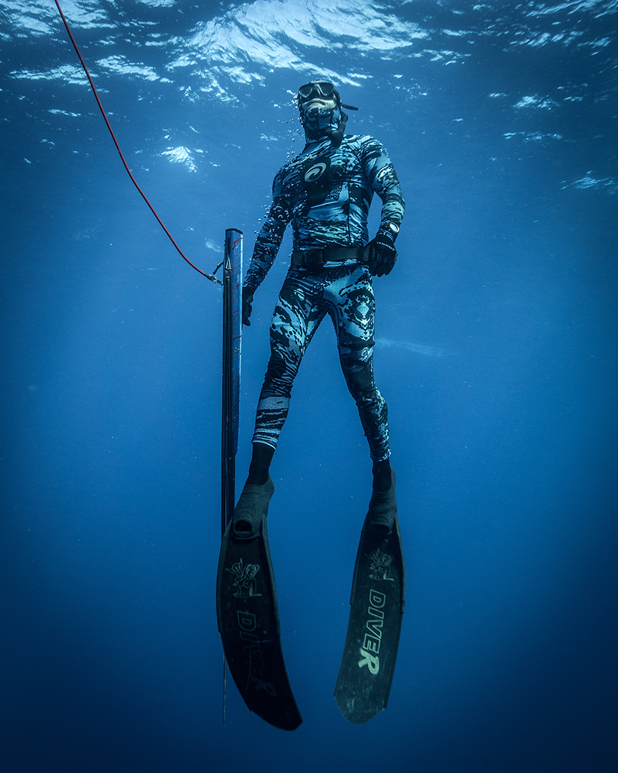 One Breath Diving And Spearfishing Exhibition Set For