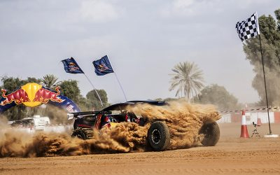 Desert Dune Buggy Driver Rashed Mohammad Al Dhaheri Crowned Winner of Red Bull Torque 2017