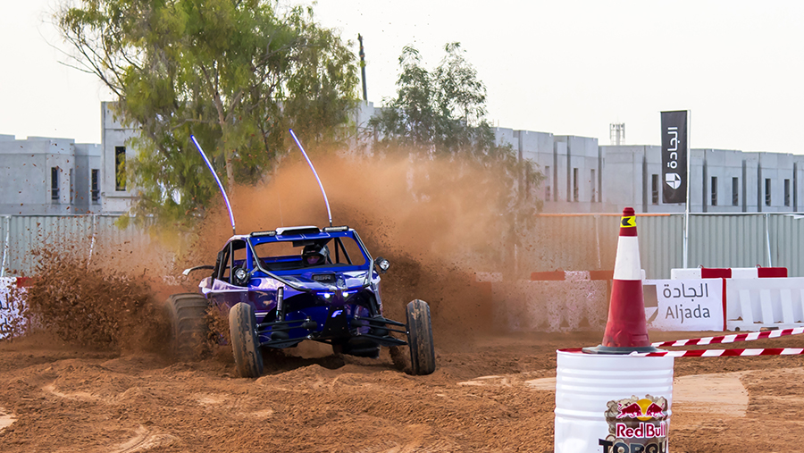adrenaline-fuelled competition took place in Aljada, Sharjah's