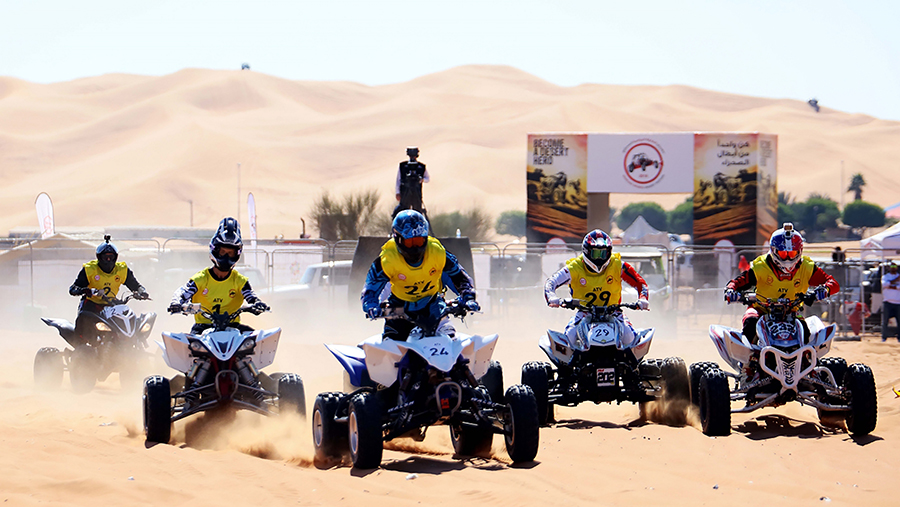 Sheikh Sultan bin Ahmed Al Qasimi Crowns Champions at High-octane Sharjah Sports Desert Festival