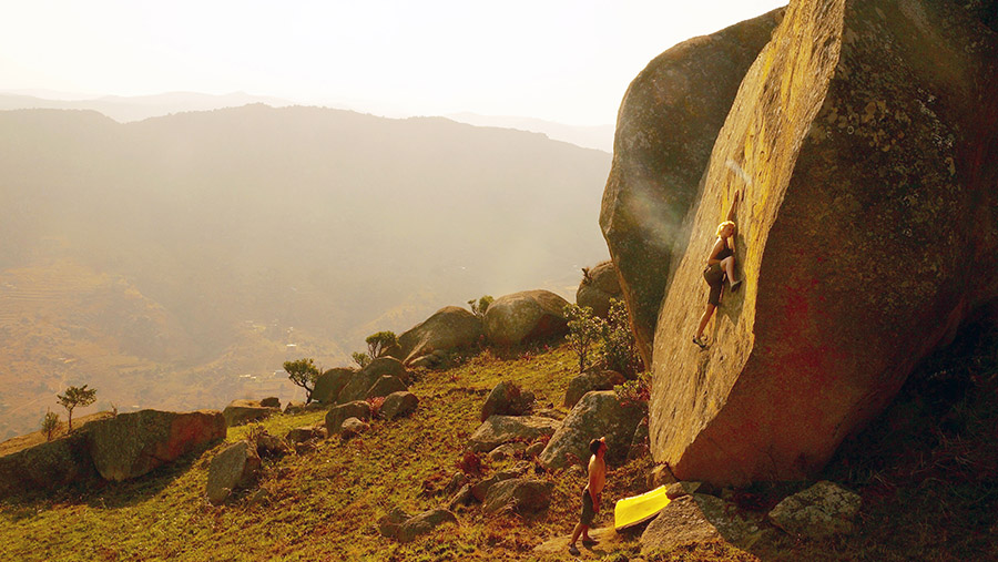 Bouldering in Swaziland and Lesotho