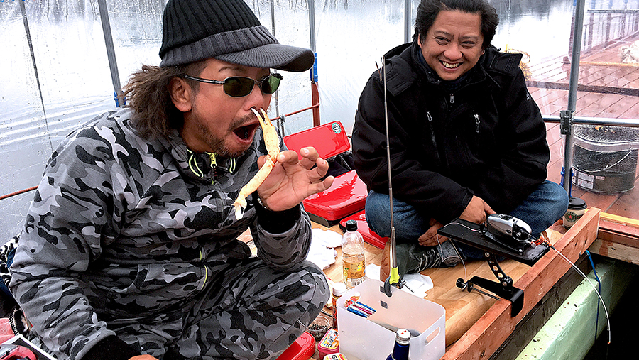 Fishing in Japan