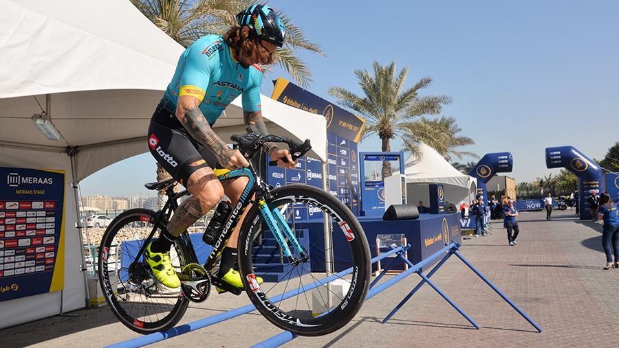 dubai tour Bicycle racer