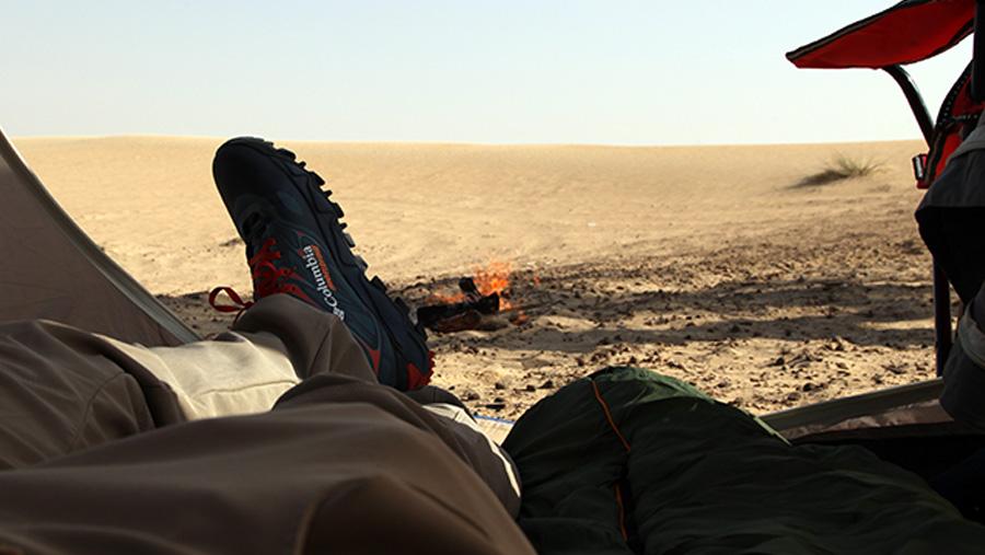 Let's Go Camping in the Desert