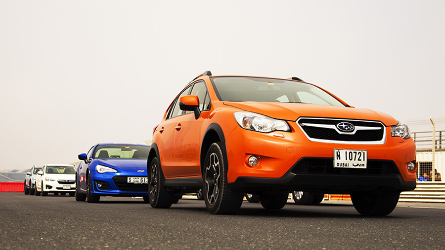 Subaru Driving Experience with EyeSight Demonstration