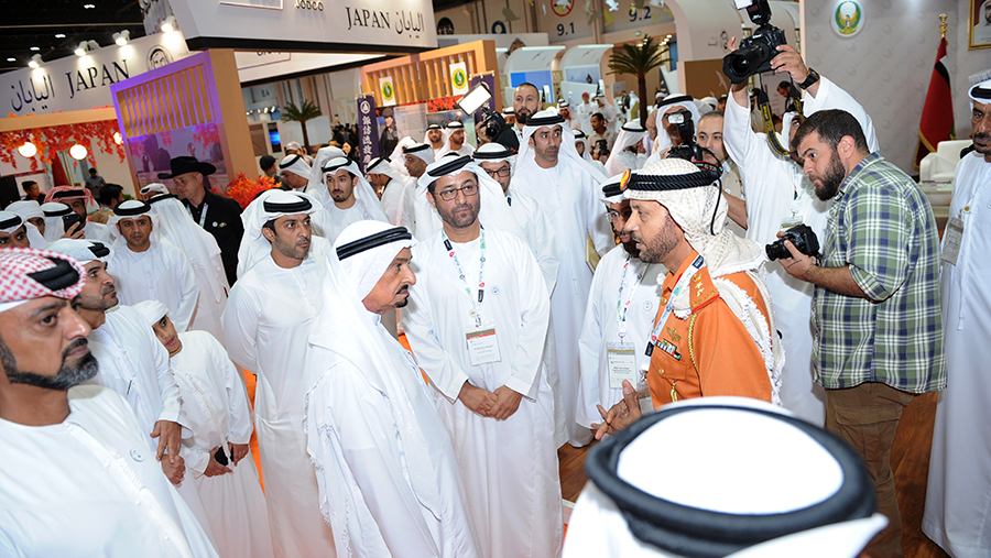 Visited by His Highness Sheikh Mohammed bin Zayed and Rulers of the UAE and more than 110 Thousand Visitors