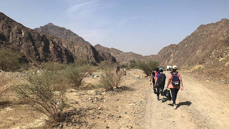 Ras Al Khaimah Clean & Hike