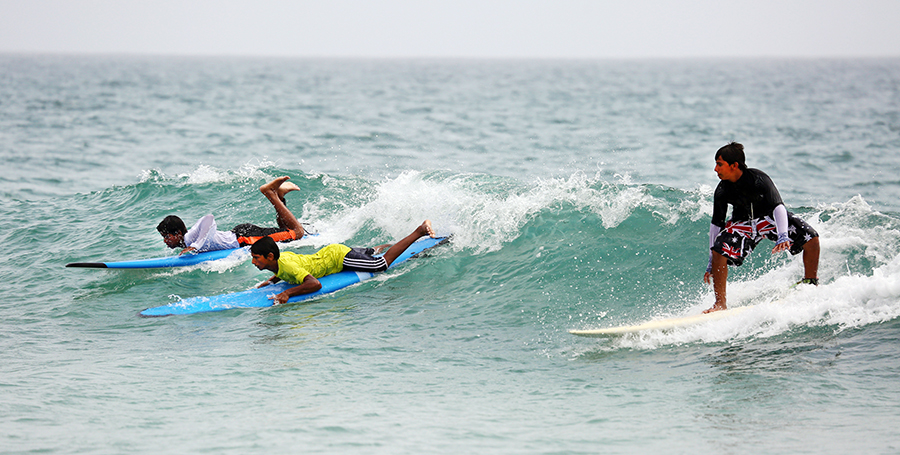 Sultan of the Groms Surf Competition