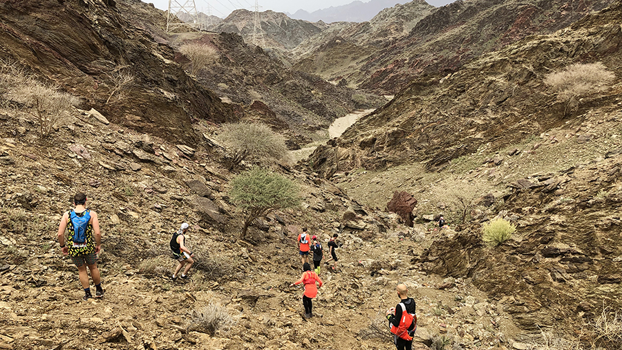 Mount Sana 60: Running Rocks in the Rain