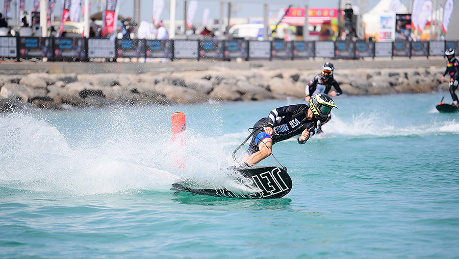 Prucha Claims Victory as Abu Dhabi Launches MotoSurf World Cup Season in Style