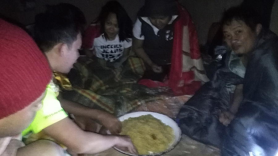 food in camp