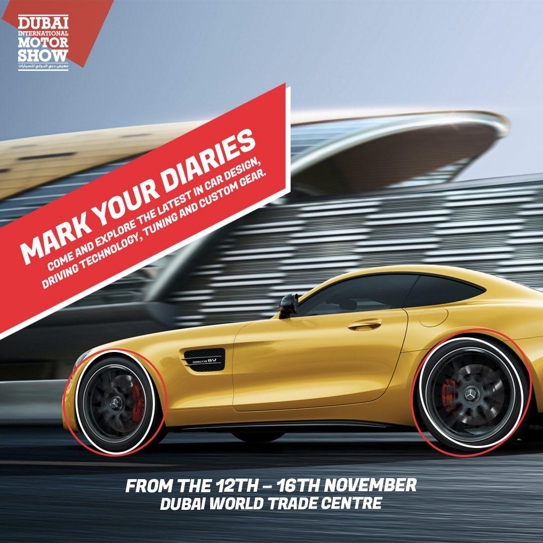 Dubai International Motor Show returns this November 2019