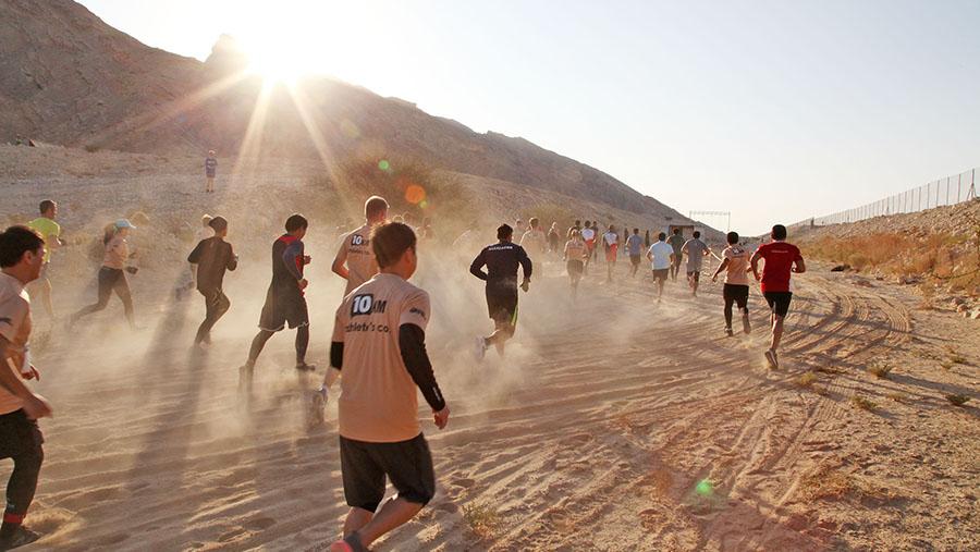 Wadi Adventure Race in Al Ain