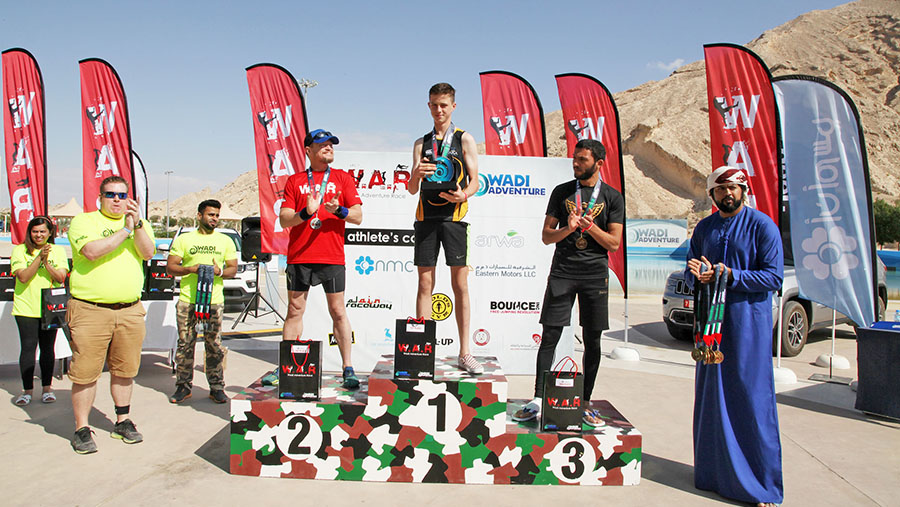 Wadi Adventure Race Winners