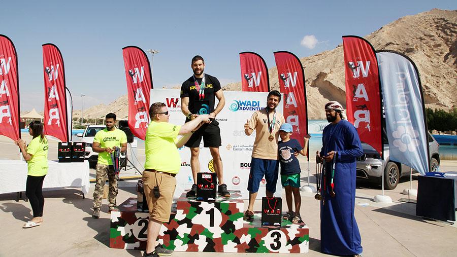Wadi Adventure Race male winners