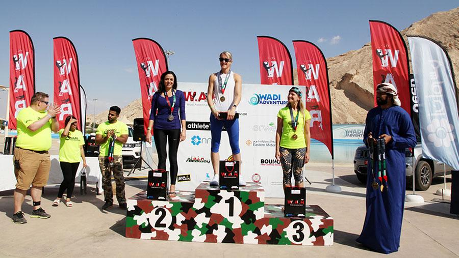 Wadi Adventure Race Female Winners