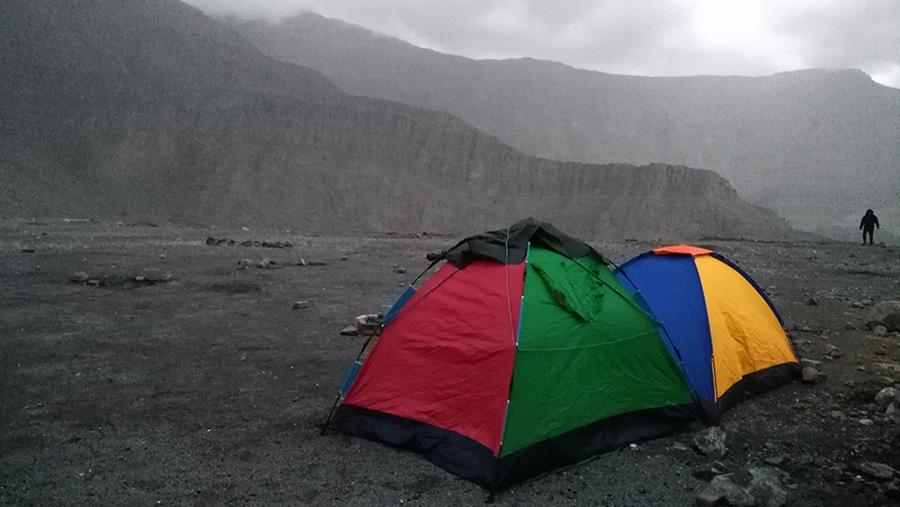 Jebel Jais Camping