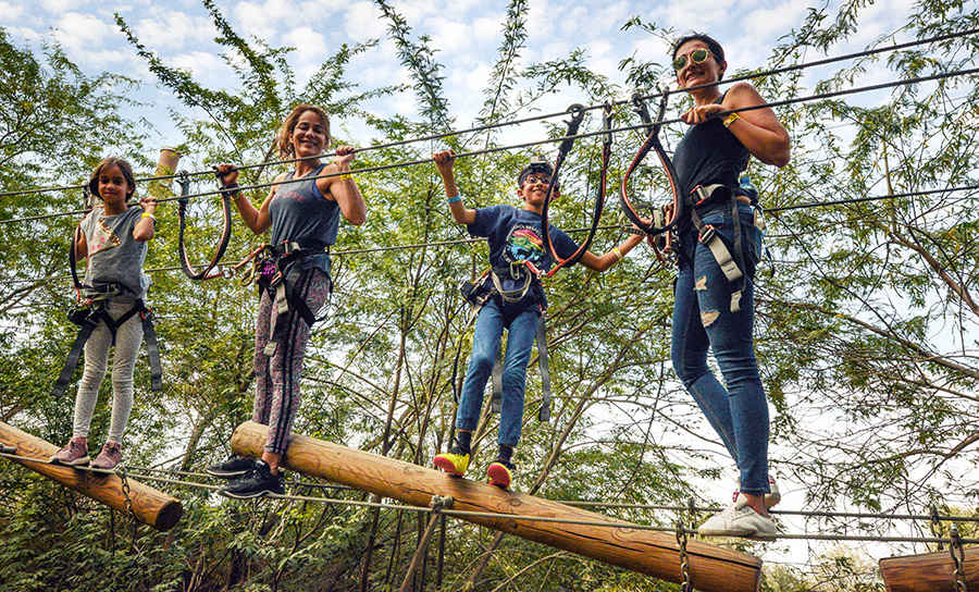 NATURE MEETS ADVENTURE AT AVENTURA PARK