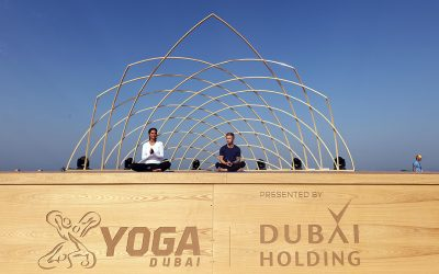XYoga at Dubai's Kite Beach