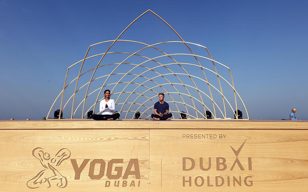 XYoga at Dubai's Kite Beach