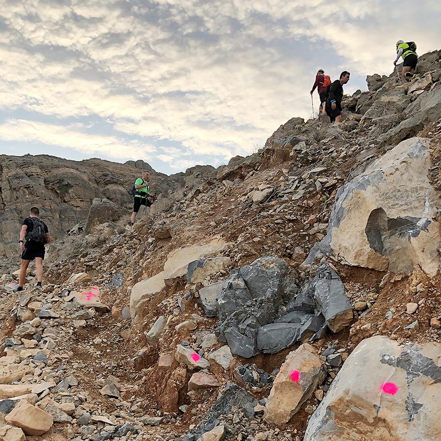 Climbing singletrack