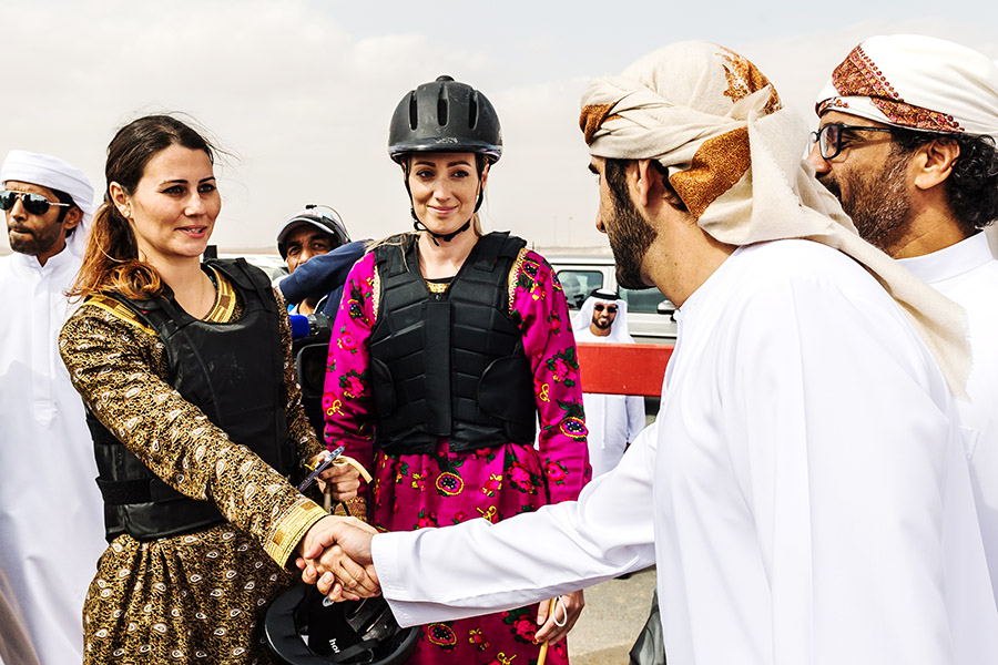 Crown Prince Camel Racing Festival Sheik Hamdan Denise