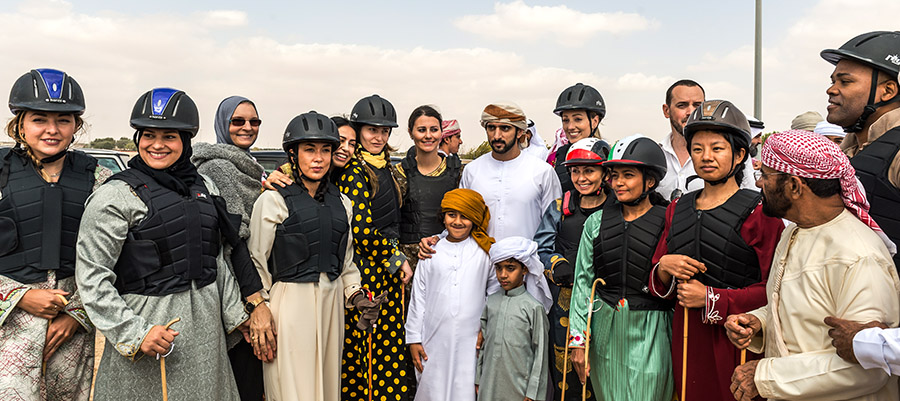 Crown Prince Camel Racing Festival Sheikh Hamdan Group