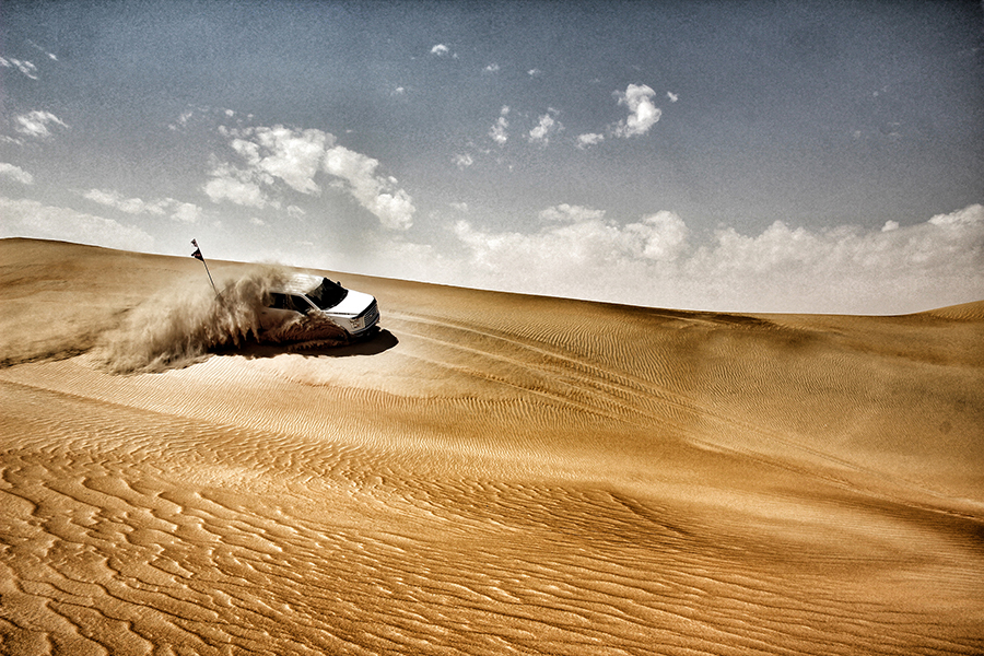 Dune bashing by UAE Offroaders