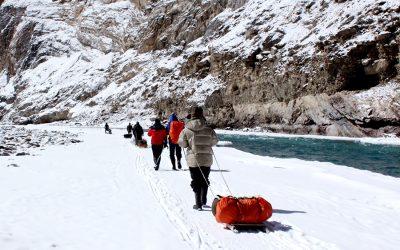 Hiking in Subzero Temperatures
