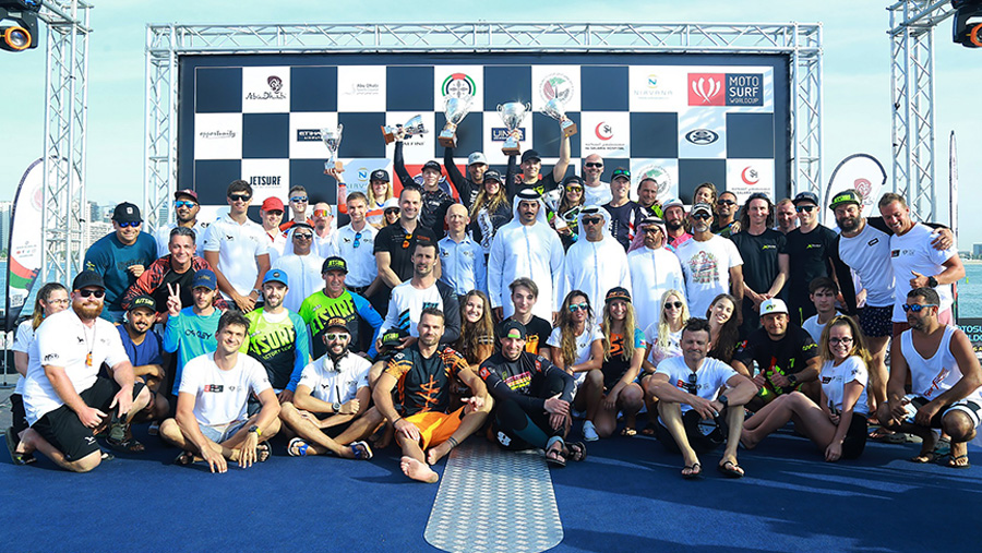 MotoSurf World Cup awards at ADIMSC