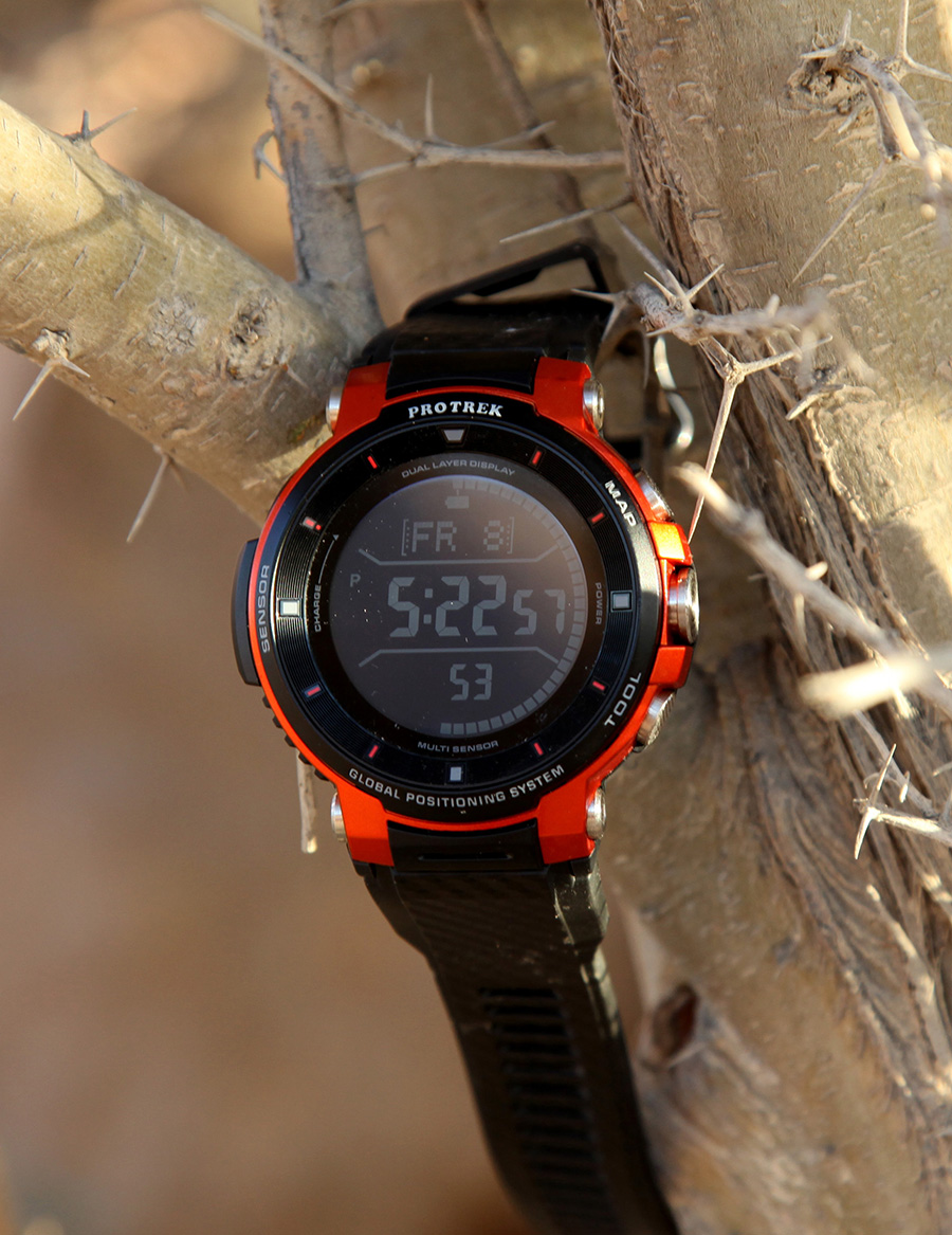 The ultimate outdoor watch - Casio ProTrek WSD-F30_3