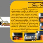 Quick pitch Maxx Trax quick clamp/table