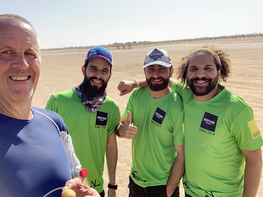 Volunteers from Savills KSA