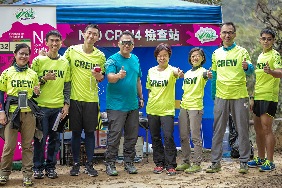 Wonderful crew made up by majority runners