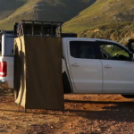 Quick pitch privacy shower tent