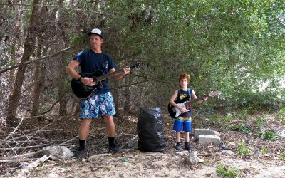 Punk Rock Kids Medley – A lockdown family music/video project